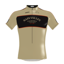 Napa Bike Wear CBS Jersey Napa Valley Retro Men's Relaxed Fit