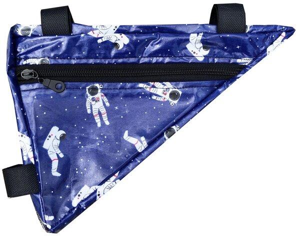 Little Bike Bag Horizontal Frame Pouch Spaceman