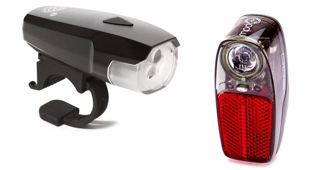 PDW Spaceship 3 Headlight & Radbot 500 Taillight Set