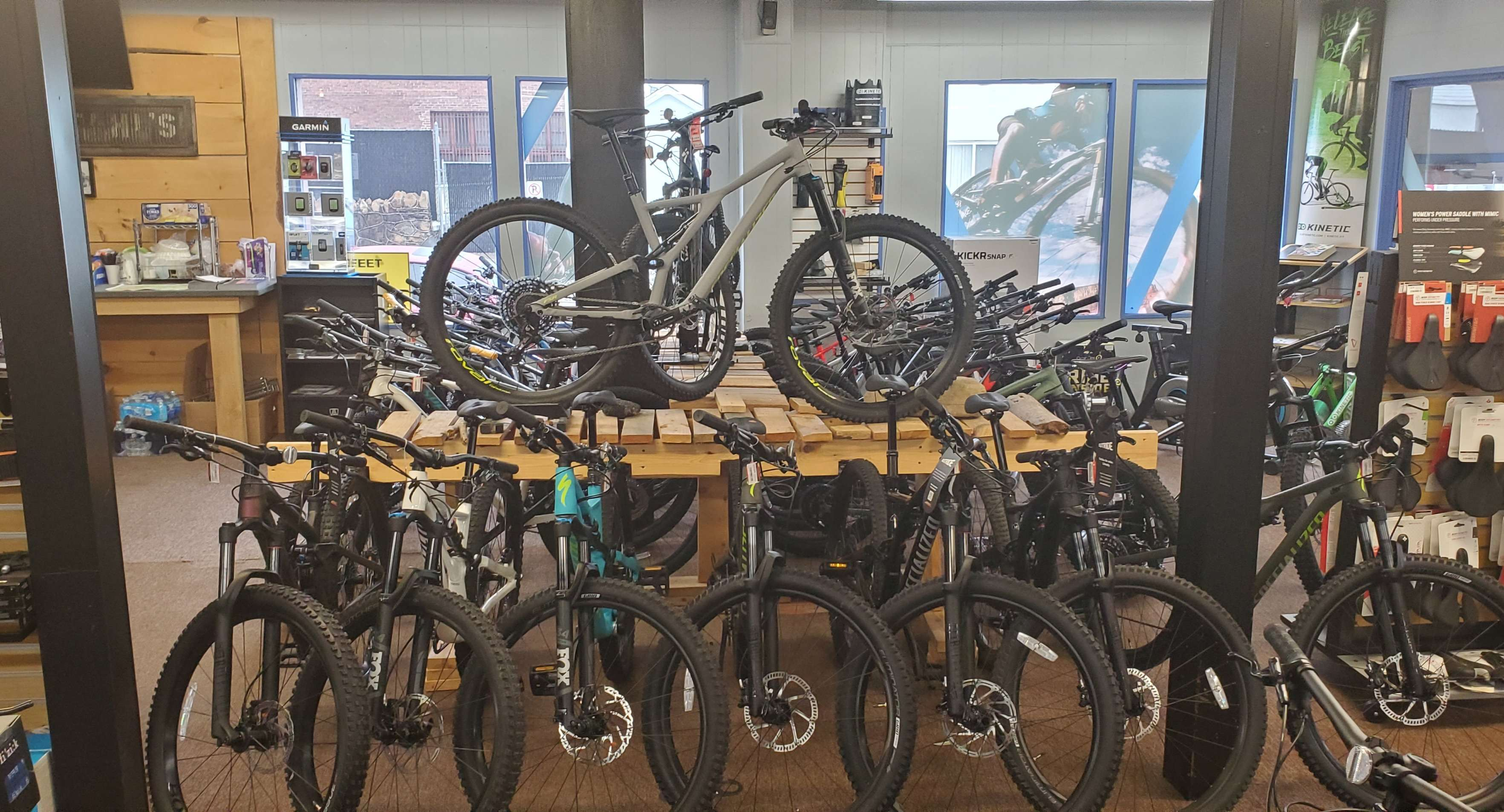 New bike showroom