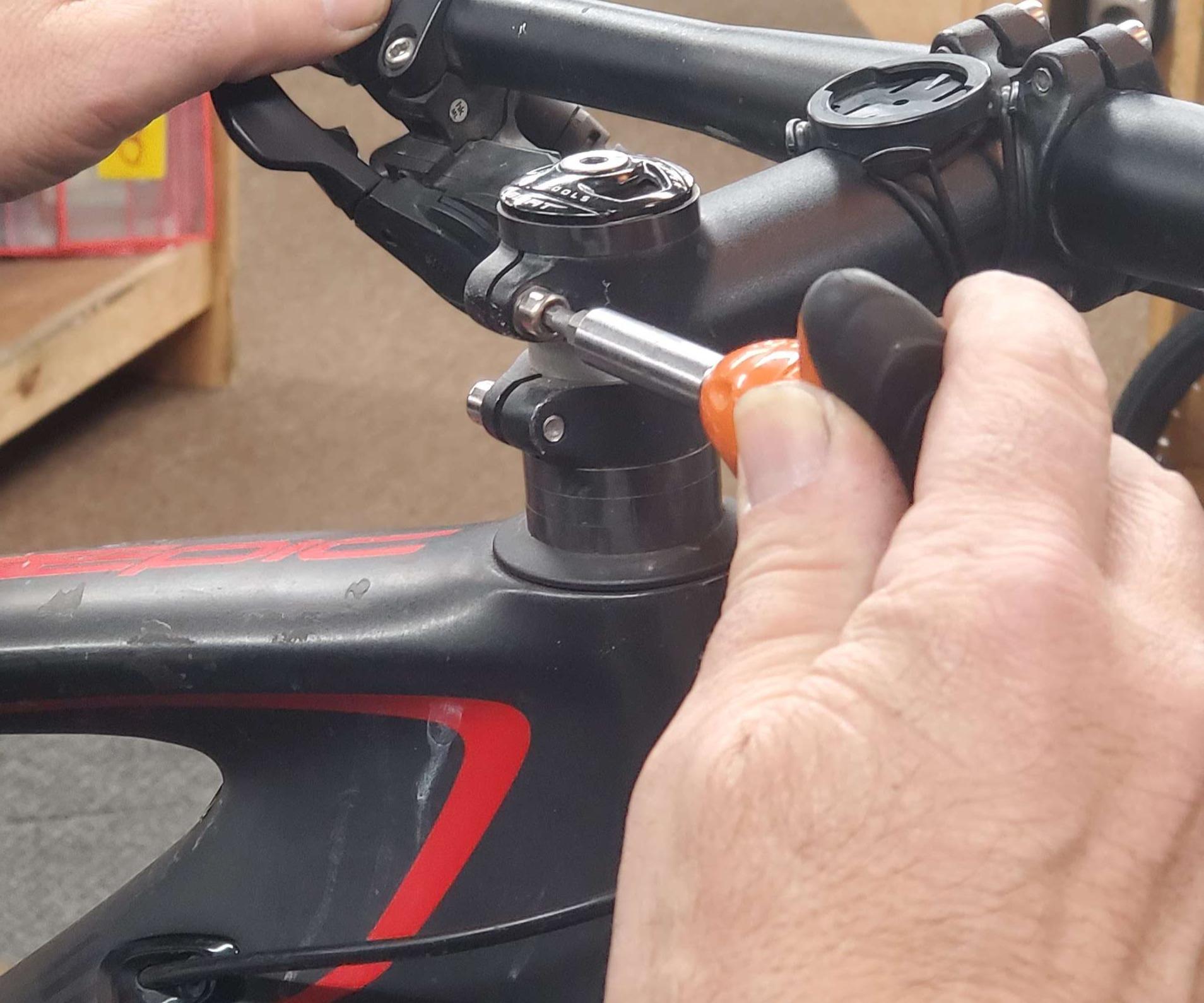 Making bike adjustments