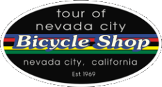 Tour of Nevada City Bicycle Shop Home Page