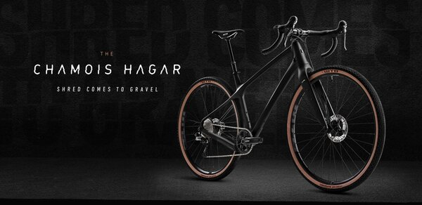 EVIL Bicycles Chamois Hagar - Frameset