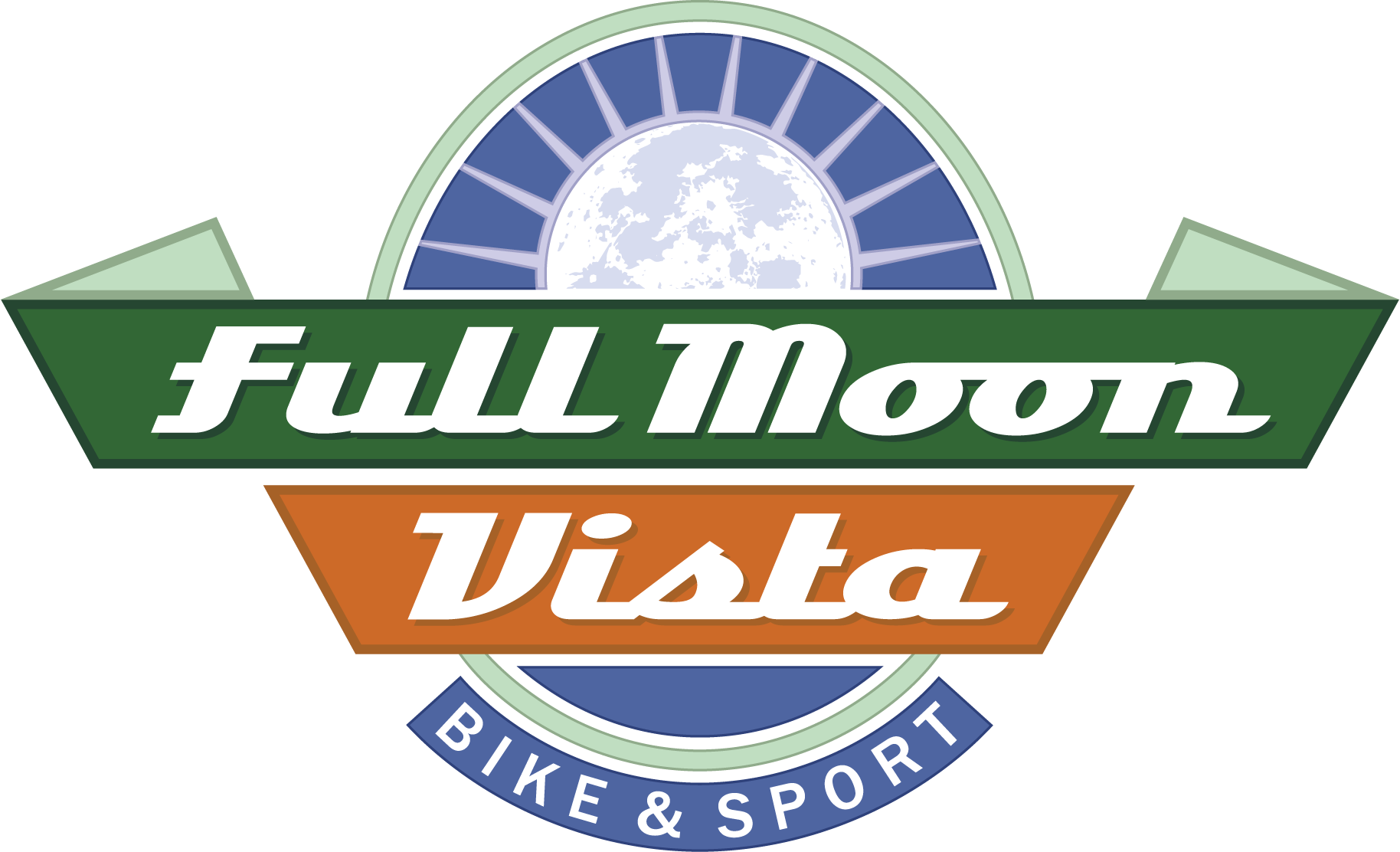 Full Moon Vista Bike & Sport Logo