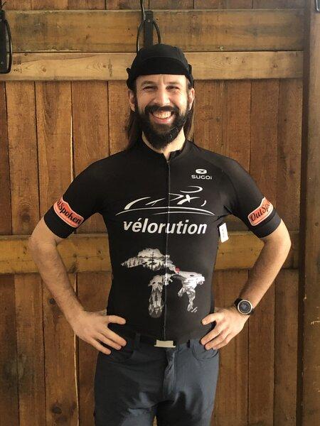 Velorution Velorution Konrad 1st Edition Evolution Jersey SS Zap