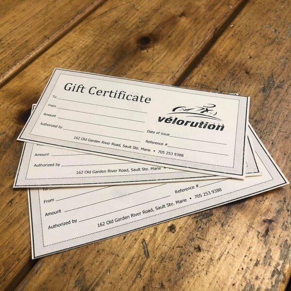 Velorution Gift Certificate