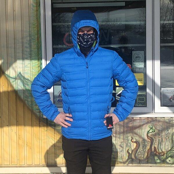 Vertical Men's Hot Fused Jacket