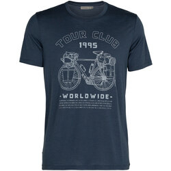 Icebreaker Men's Merino Tech Lite Short Sleeve Crewe T-Shirt Tour Club 1995