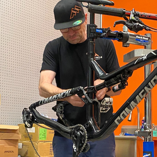 Photo of bicycle maintenance tools