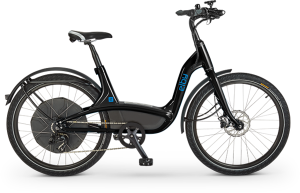 Elby Elby E-bike 9-Speed BLK