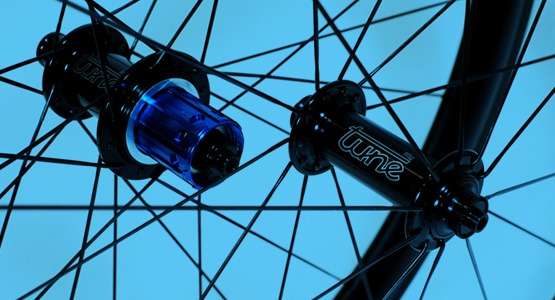 Custom wheel with Tune hub