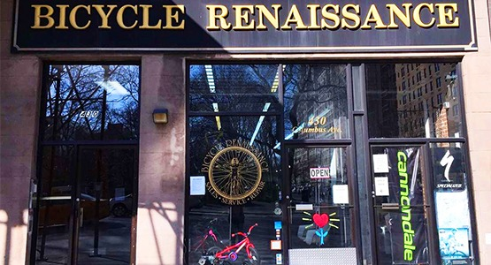 Bicycle Renaissance Store Front