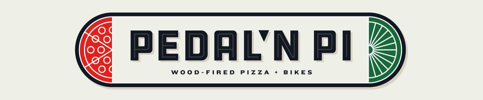 Pedal N Pi wood fired pizza and bikes - logo