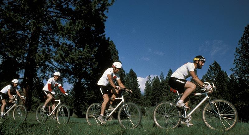 Mountain bikes in 1990s