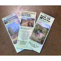 Bikeverywhere Central Oregon Road Biking Map and Guide
