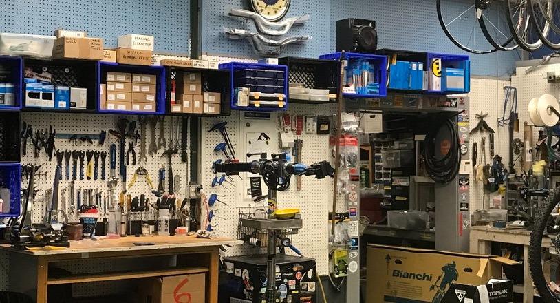 Bike repair center