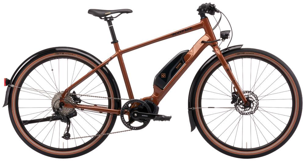 Stock image of a Kona Dew-E bike