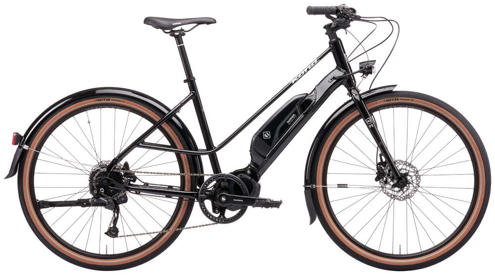 Stock image of a Kona eCoco bike