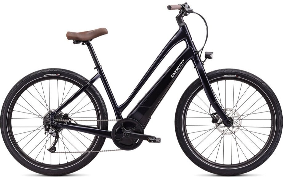 Stock image of a Specialized Turbo Como 3.0 650b Low-Entry in the color Nearly Black
