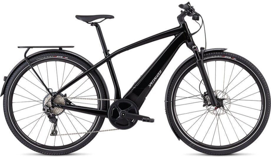Stock image of a Specialized Turbo Vado 5.0 in black