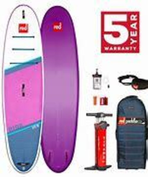 """Red Paddle Co 2021 Red 10'6"""" Ride Special Edition"""