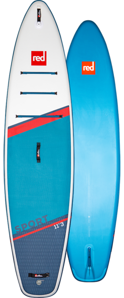 """Red Paddle Co Red 11'3"""" Sport C50-Nylon 3pc Package"""