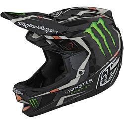 Troy Lee Designs D4 Carbon Monster Fairclough Helmet