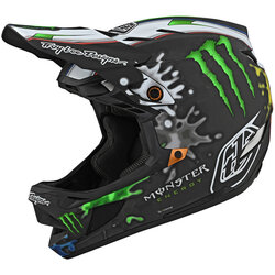 Troy Lee Designs D4 Carbon Monster Zink Helmet
