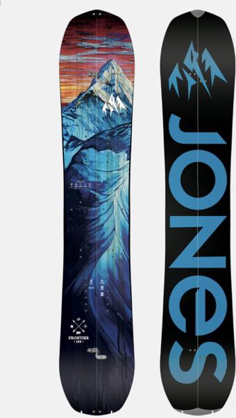 Jones Snowboards Frontier Split 158 Wide
