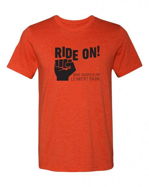 Ride On! Ride On! logo