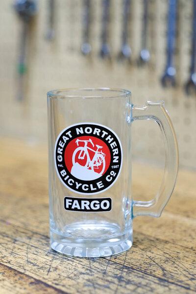 Great Northern Bicycle Company Glass Mug