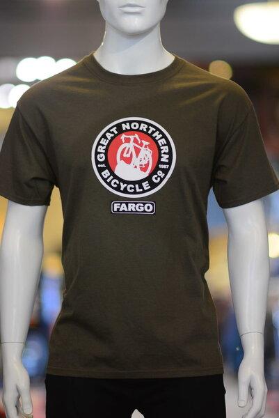 Great Northern Bicycle Company GNBC Shield T Shirt