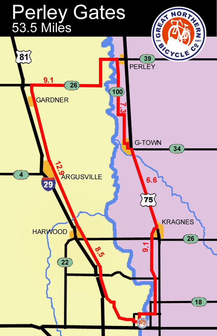 Perley gates map