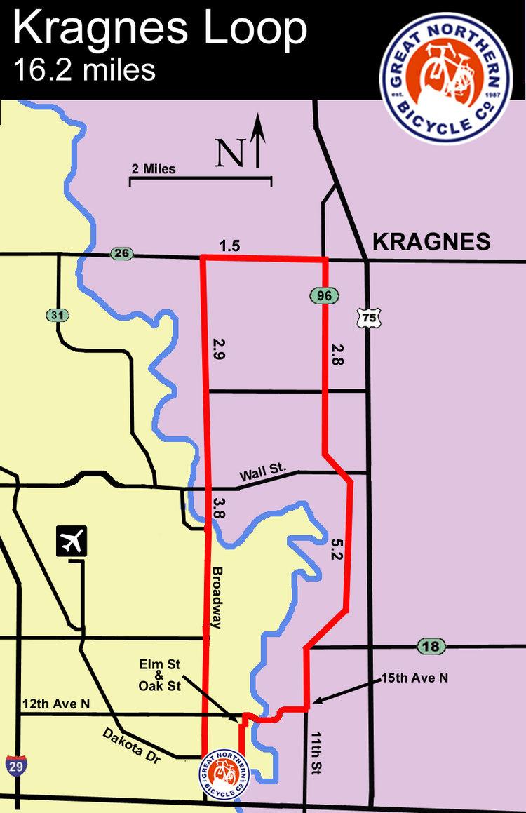 Kragnes small loop map