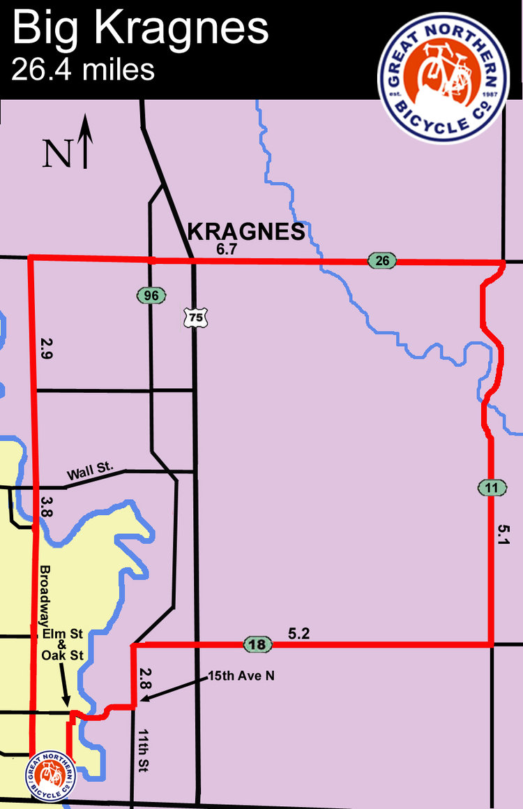 Big Kragnes map