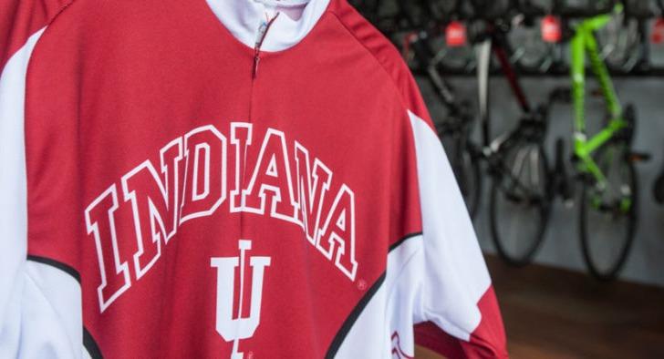 Indiana University cycling jersey