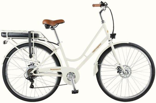 Retrospec Beaumont Rev Electric City Bike - Step Through