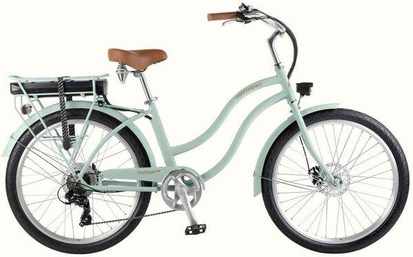 Retrospec Chatham Rev Beach Cruiser Electric Bike - Step Through