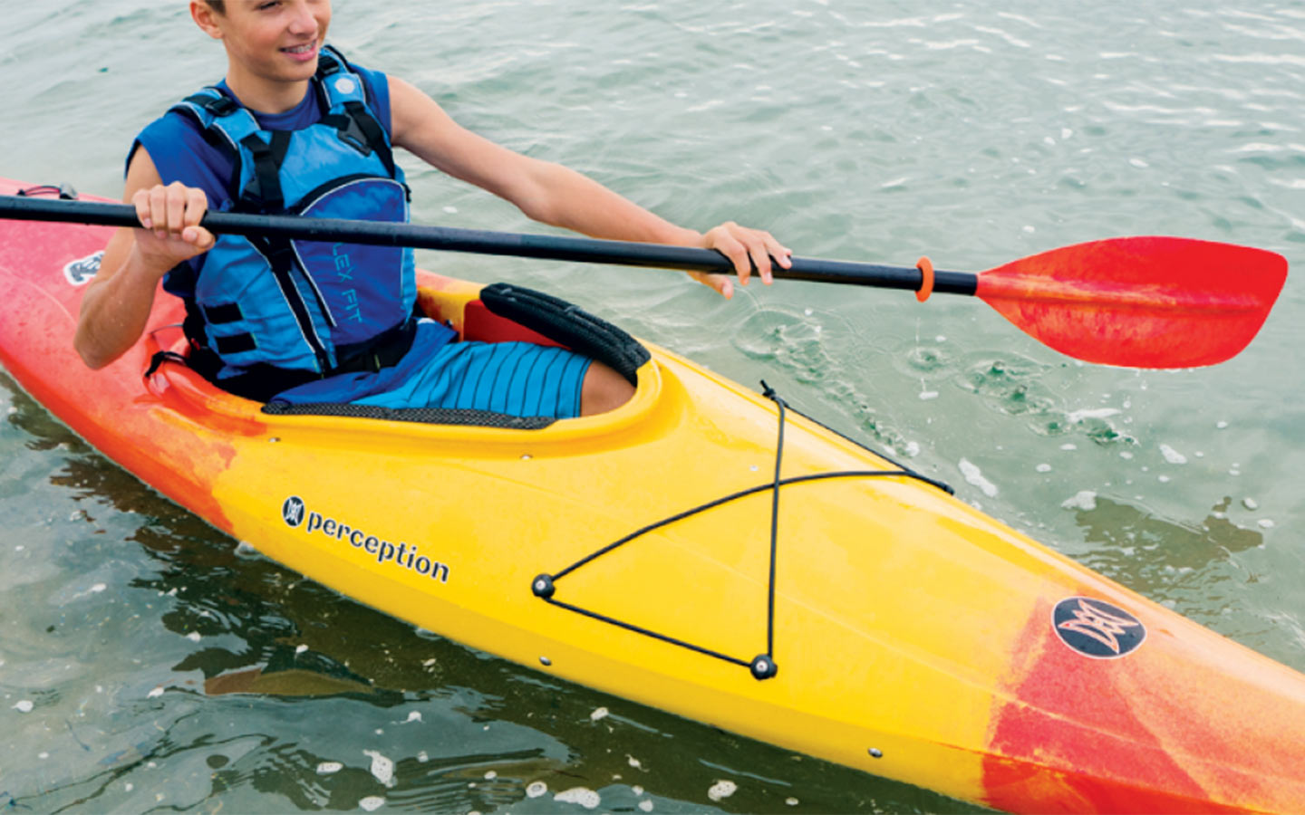 Person in a kayak