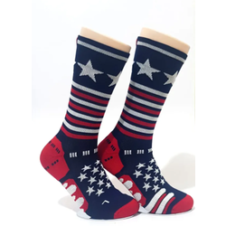 Bikeland H2D Pro Sock Stars and Stripes Navy Large
