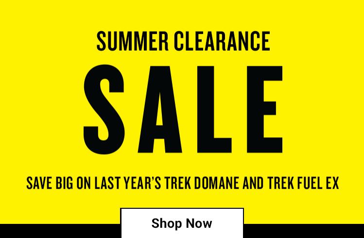 Trek Summer Clearance Sale