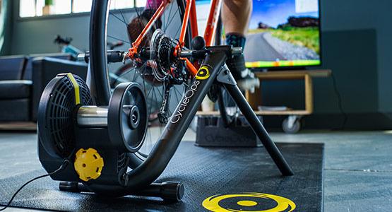 Bike on Indoor Trainer
