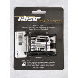 Clear Bicycle Company Deluxe Multi 16 Tool