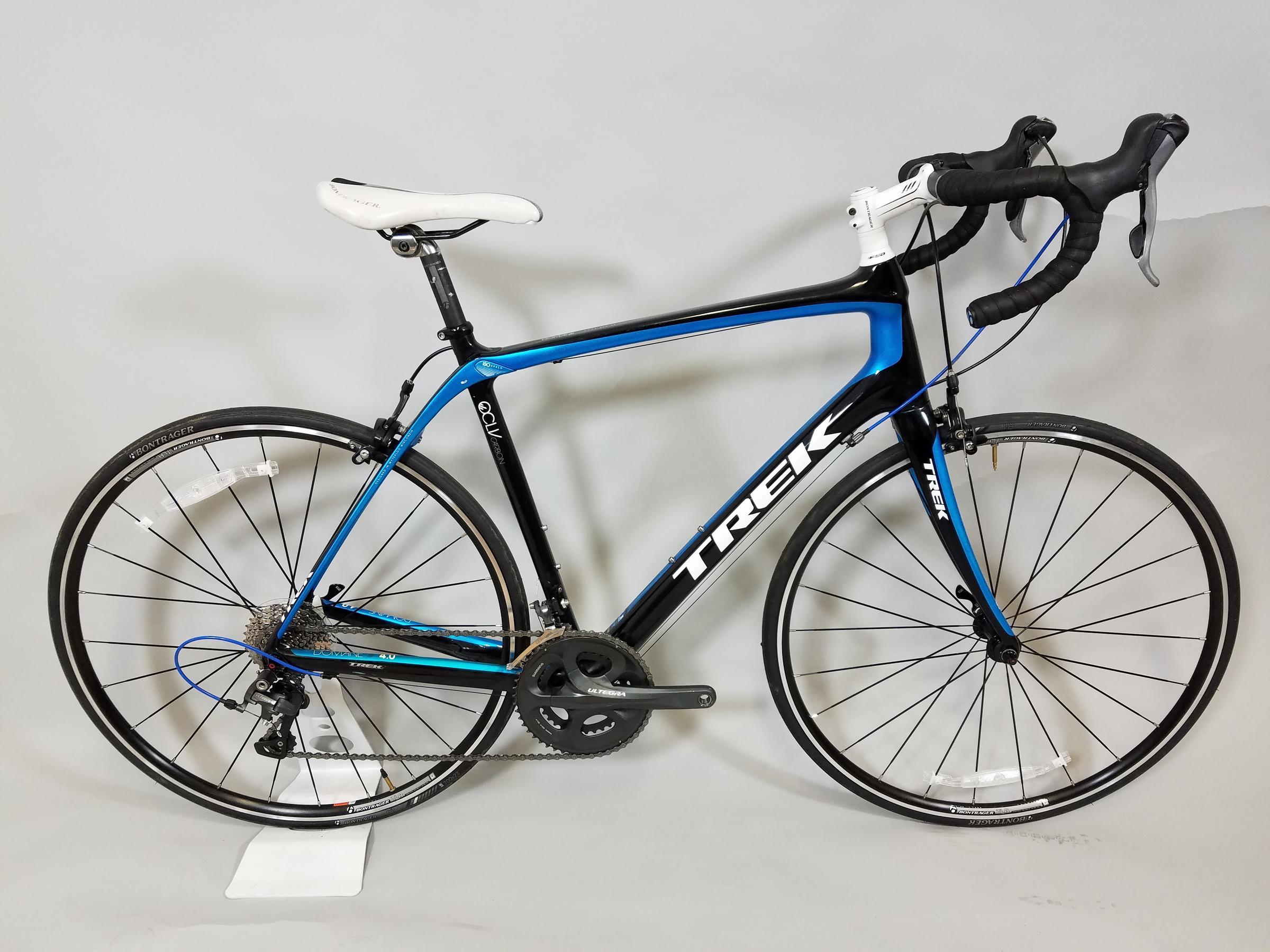 Trek Bicycle Superstore USED TREK DOMANE 4 0 56 BLACK/BLUE