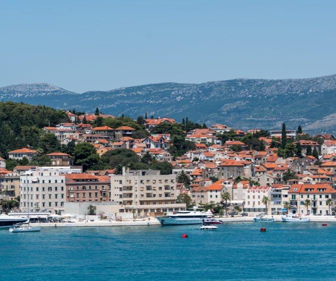 resorts on the coast of Croatia