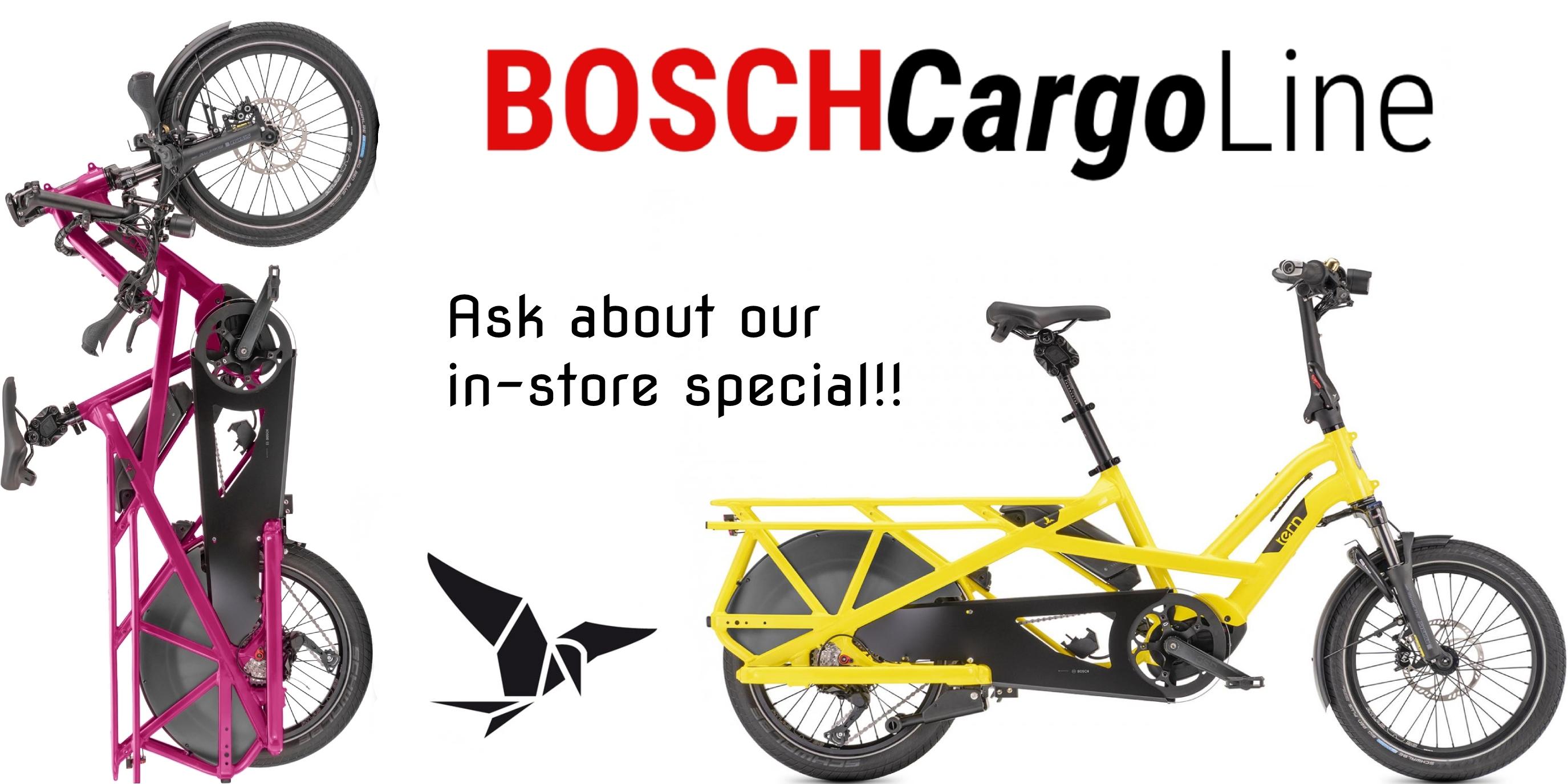 Shop Cargo & Folding bikes
