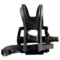 Wellgo Combo Sport Pedals/Toe Clip Set