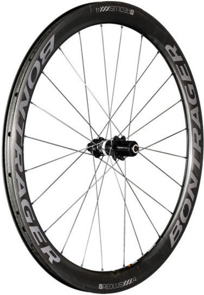Bontrager Bontrager Aeolus XXX 4 TLR Disc Clincher Road Rear Wheel Blem Decals