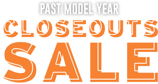 Past Model Year Closeouts