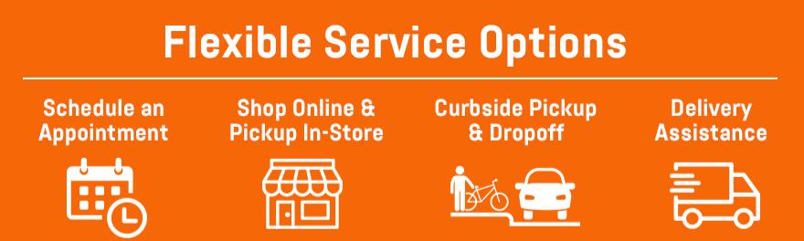 Flexible Service Options